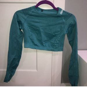 Gymshark crop top size small